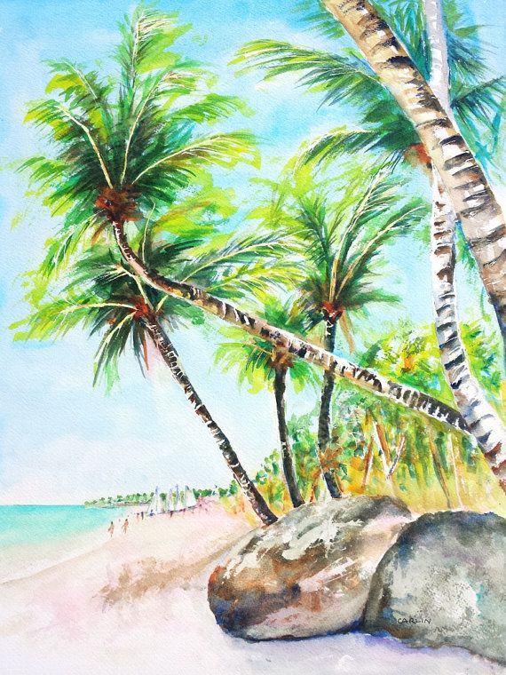 New 65 best Beach Watercolor Paintings ~ Beachy Art images on  WT71
