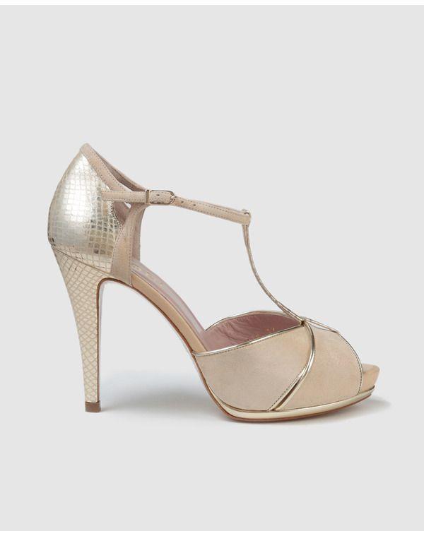 sandalias de tacón de mujer | vintage | bridal shoes, wedding shoes
