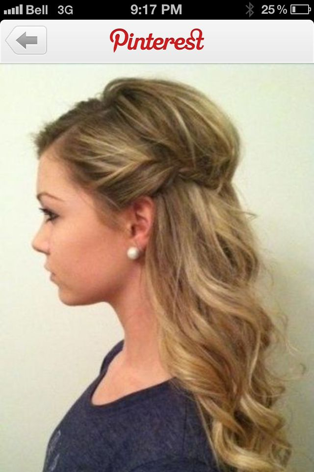 Bridesmaids Hair - Option 1