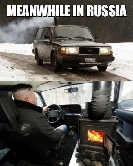 Meanwhile In Russia | Click the link to view full image and description : )