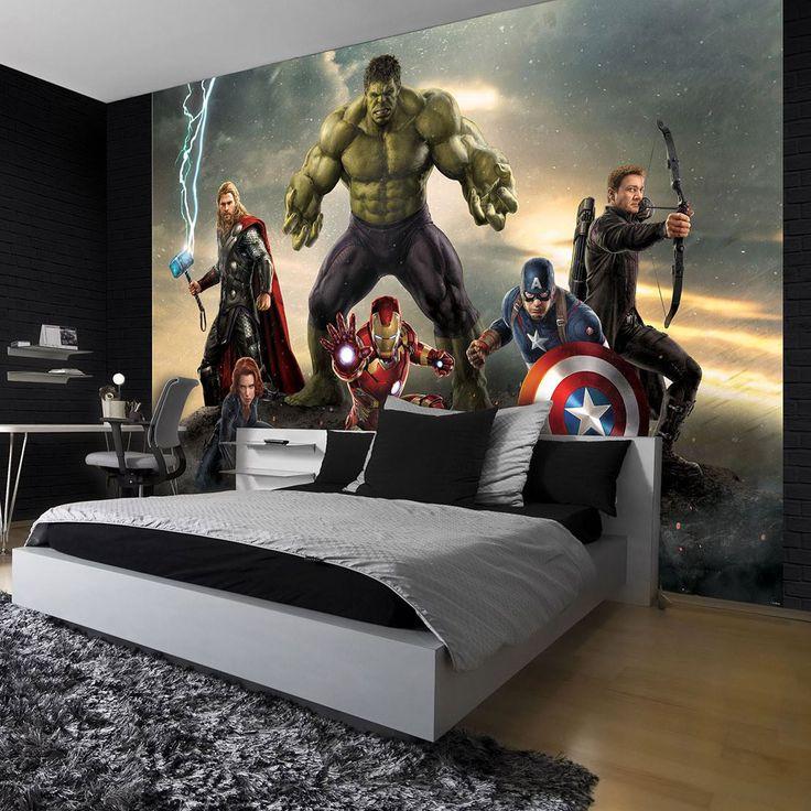 Avengers Parures de lit 100 Coton ou Polyester