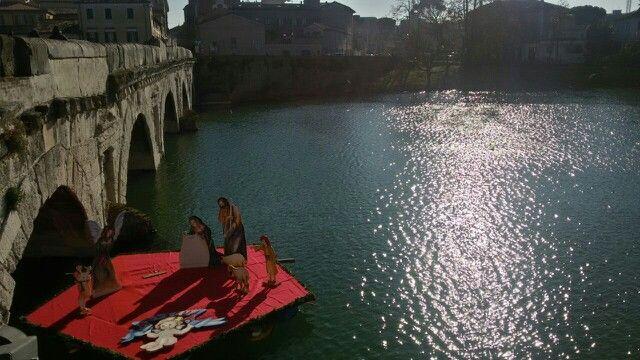 #Presepe galleggiante