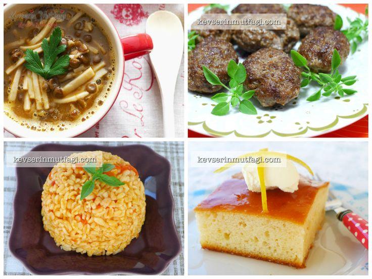 bugün ne pişirsem, yemek menüsü, iftar menüsü, iftar ...