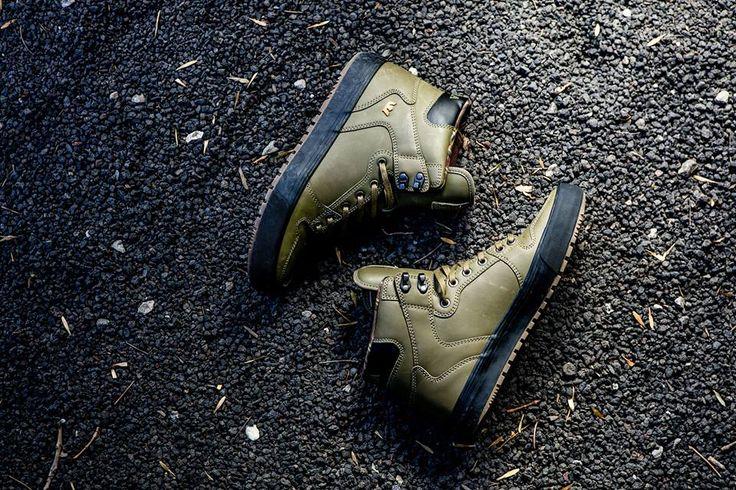 Supra Footwear, Supra Vaider CW Olive/Black