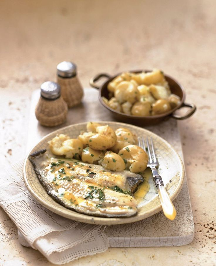 This healthy plaice recipe is perfect served with lemon parsley butter and crushed potatoes.