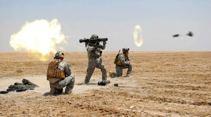 US Special Forces soldier fires a Carl Gustav rocket during a training exercise conducted in Basrah, Iraq. May 2, 2009. - Perfectly Timed Photography 2  Best of Web Shrine