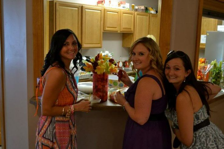 Stilettos and Diapers: Bridesmaid Duties: Bachelorette Party and Tropical Bridal Shower