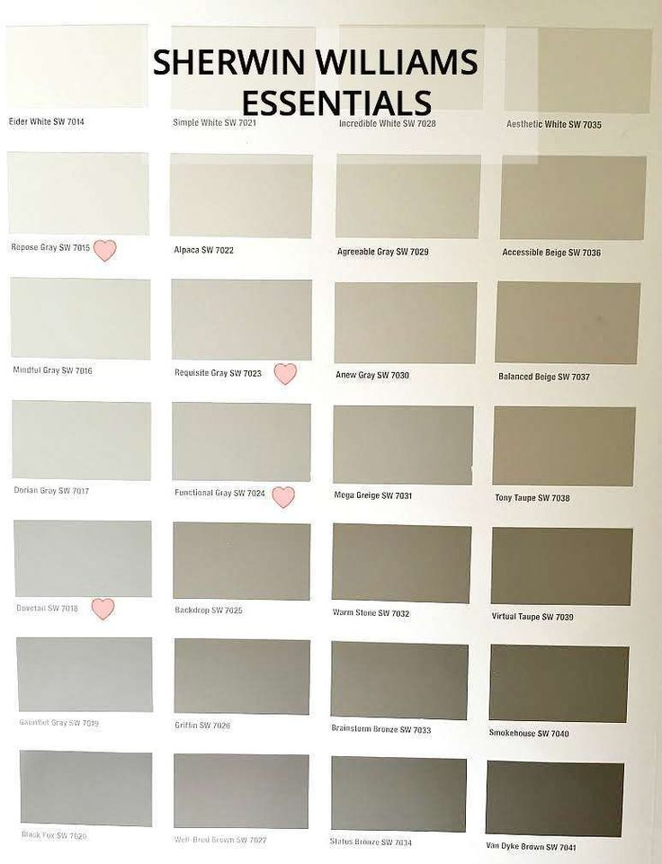 85 best paint colors images on pinterest color palettes for Sherwin williams paint combinations