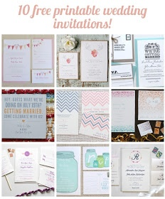 Pretty Providence | A Frugal Lifestyle Blog: Free Wedding Invitations, Customizable and Printable!