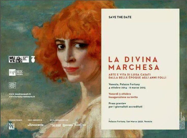 la-divina-marchesa-arte-e-vita-di-luisa-casati venezia 08/03/15