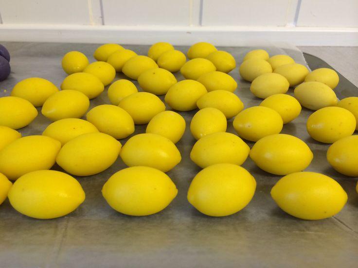 Marzipan Lemon, sitroner av marsipan