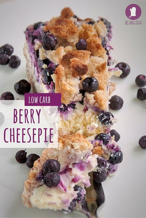 This is a dessert that reflects a lifestyle which steps off the strict keto path every now and then. I call it Early Summer Low Carb Berry Cheesepie because it combines all the beauties that spring, turning into summer, brings. #lowcarb #keto #lchf #ketosis