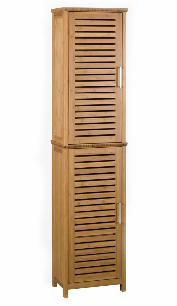 Traditional Tall Bathroom Cabinets Design : Natural Yrw Carbonized  Horizontal Solid Bamboo Bathroom Tall Cabinet - 20 Best Bathroom Accessories Images On Pinterest Bathroom