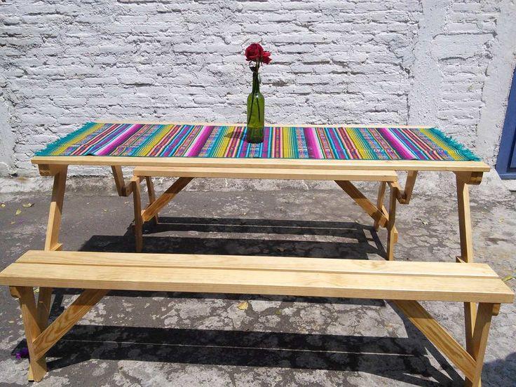 1000 ideas about mesas plegables de madera on pinterest for Mesas supletorias plegables