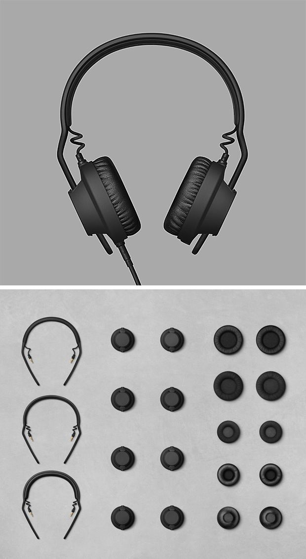 The AIAIAI TMA-2 Modular Headphones system comprises of modular audio technology that lets you synthesize your own unique listening experience.