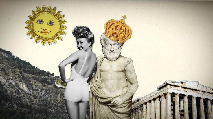 Aristoteles - Durf te Denken filosofie Animatie uit tv-programma 'Durf te Denken' (HUMAN) door Sverre Fredriksen en Leander Huizinga op basis van tekst van Leon Heuts en verteld door Hadewych Minis. Serie 2 van 'Durf te Denken' is een reeks tv-colleges over grootse denkers.