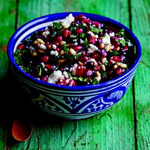 We love this Pomegranate and Queso Fresco Salsa as a relish on roasted ...