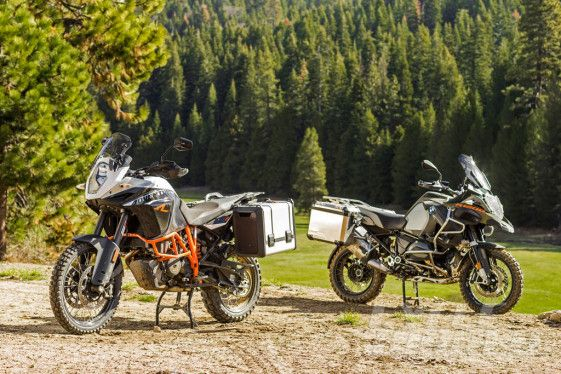 Cycle World's year-long testing of the BMW R1200GS and KTM 1190 Adventure R reveals some of the long-term costs associated with these technological marvels. (Photo courtesy Cycle World)