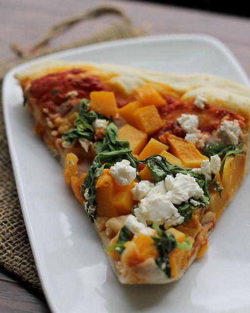 ... butternut squash spinach and feta pizza butternut squash spinach and