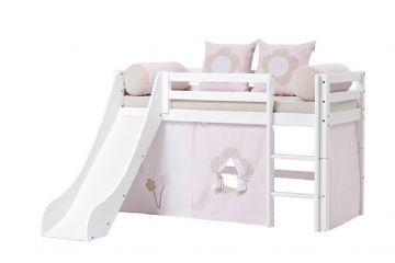 Halvhøy seng, 70 x 160 cm - Hoppekids Fairytale Flower Seng 102821 Shop - Eurotoys - Barnemøbler online