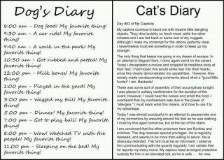 LOL!!  Dog lists!! My favorite thing!!: Dogs Diaries, Pet, Dogs Cat, So True, Cat Diaries, So Funny, Dogcat, I Love Dogs, Animal