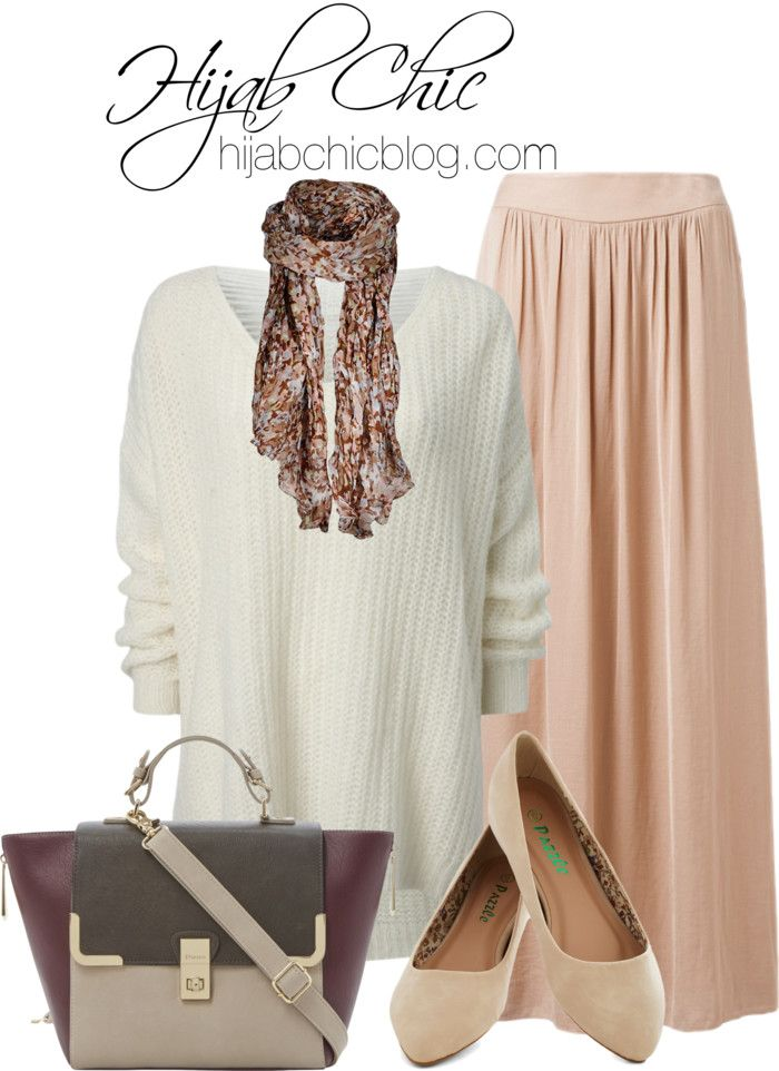 Hijab Outfit: Dune shoulder strap purse