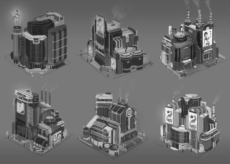 Artstation anno 2070 tycoon buildings tobias frank for Anno 2070 find architect