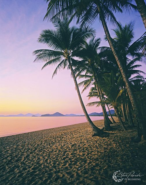 "Yes, please.  ""Palm Cove, Queensland, Australia"""