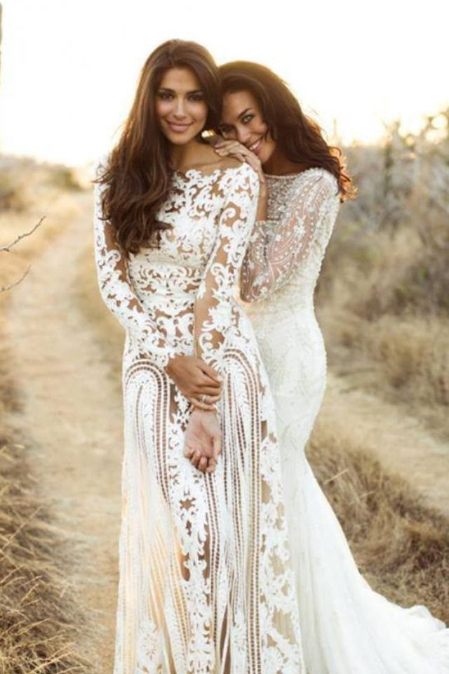 Mexican Inspired Wedding Dresses
