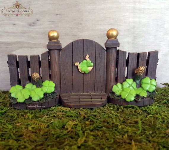363 best fairy garden furniture images on pinterest for Irish fairy garden