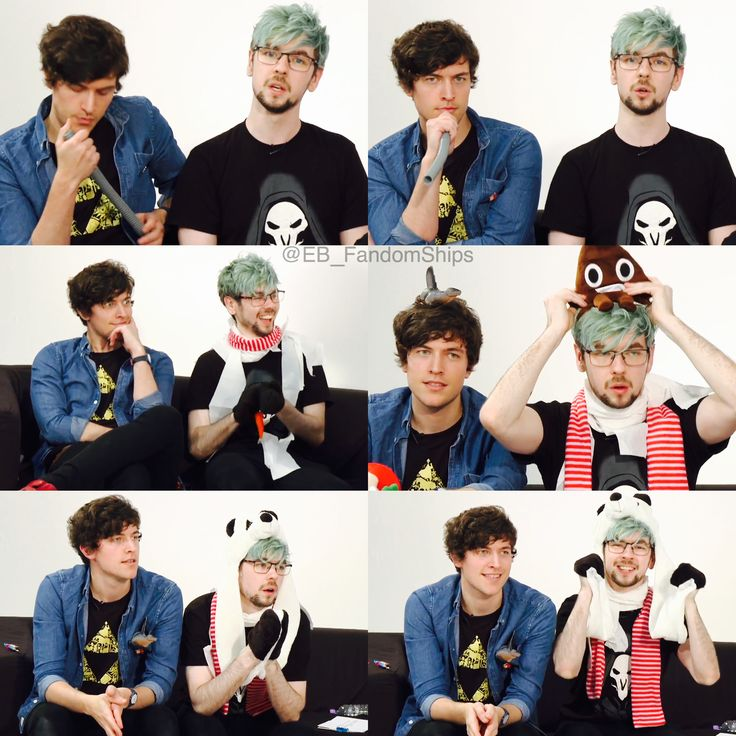 Markiplier / BirdyBoots / Jacksepticeye / Mark Edward Fischbach / Emma Louise Blackery / Sean William McLoughlin / Vloggery