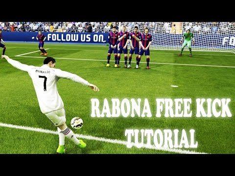 FIFA 15 How To Score Rabona Free Kicks | Xbox & Playstation - YouTube