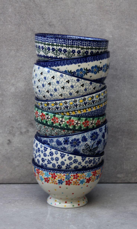 Beatiful Handmade Polish Pottery from our shop ELIMASHOP.cz . Handpainted in Boleslawiec ( Bunzlau ) . stoneware . ceramics .
