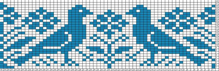 Tricksy Knitter Charts | birdie (51296) (72414) by coloredkitsch