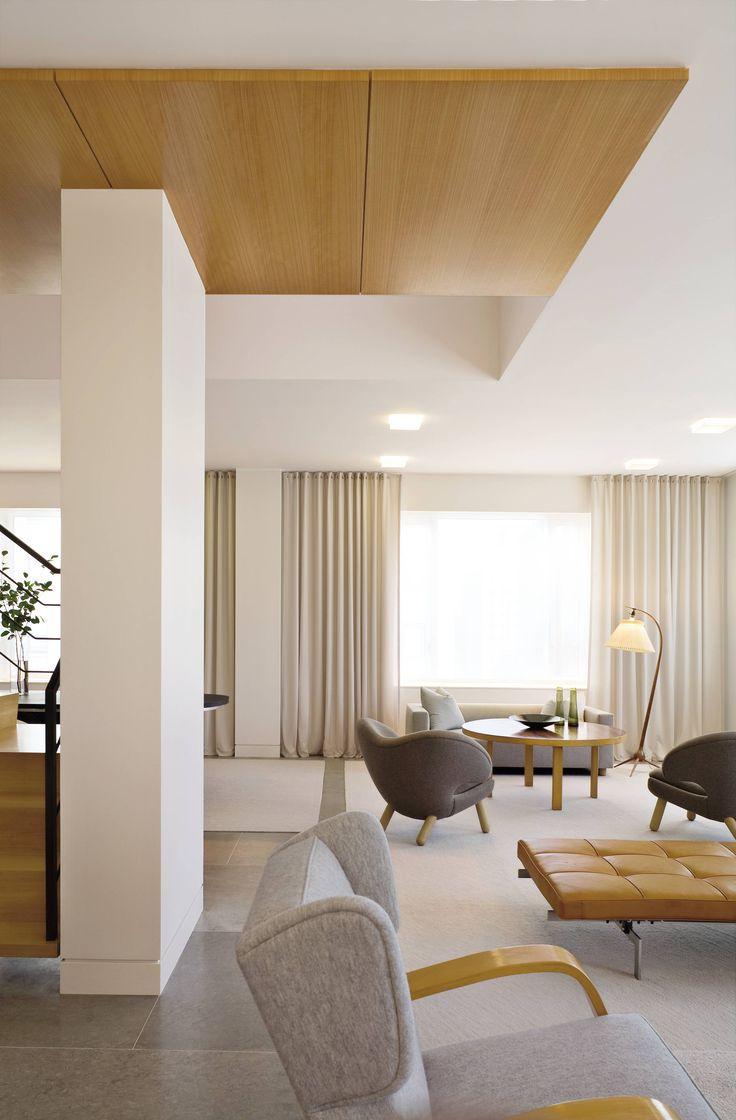 bois / faux plafond
