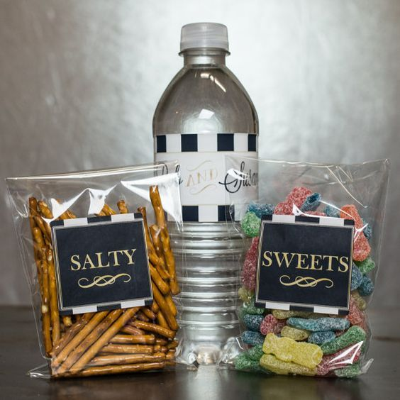 Cute labels for #welcome #baskets items
