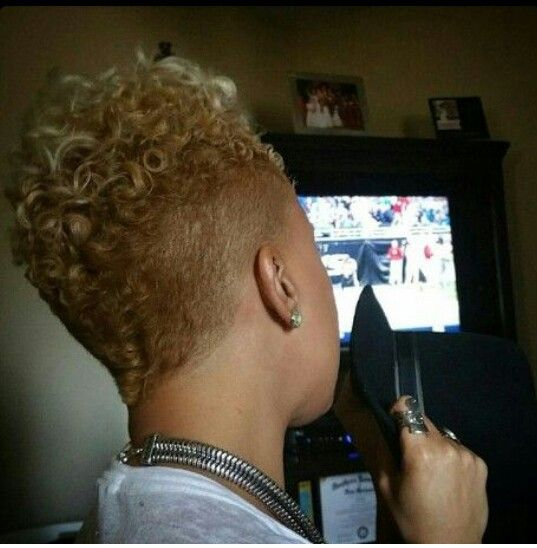 85 best images about Barber Cuts for Black Women on Pinterest