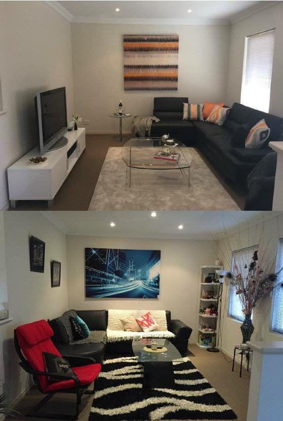 Lounge room redecoration