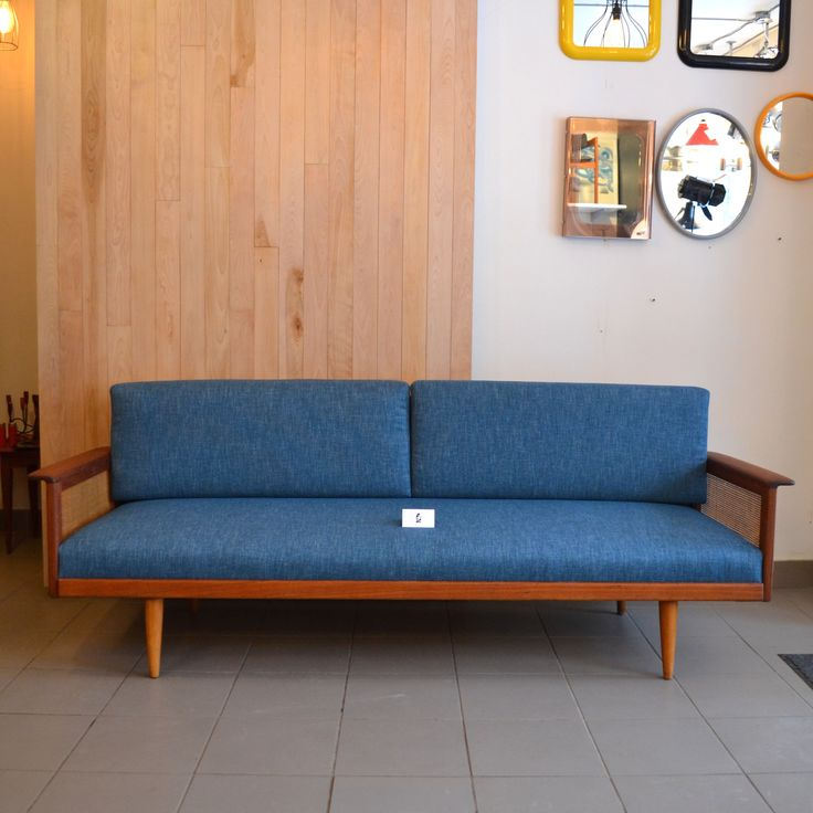 Mid-Century Modern - Canapé style Peter Hvidt