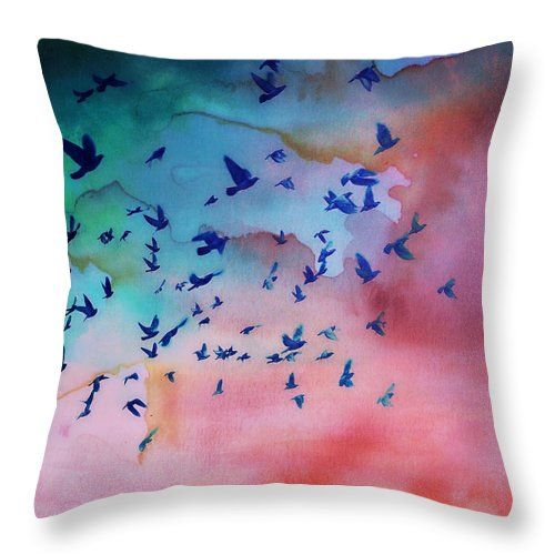 I Dream In Colour Throw Pillow featuring the photograph I Dream In Colour by Micki Findlay