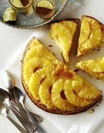 Gâteau ananas-rapadura