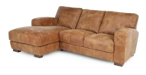 Caesar Left Hand Facing 3 Seater Chaise End Sofa Outback | DFS