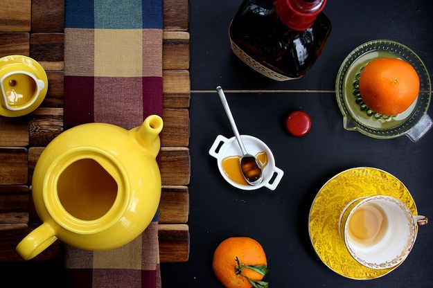 Orange Bourbon Tea   21 Boozy Drinks To Keep You Warm This Winter