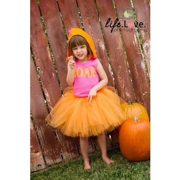 Little girl Dino tutu costume
