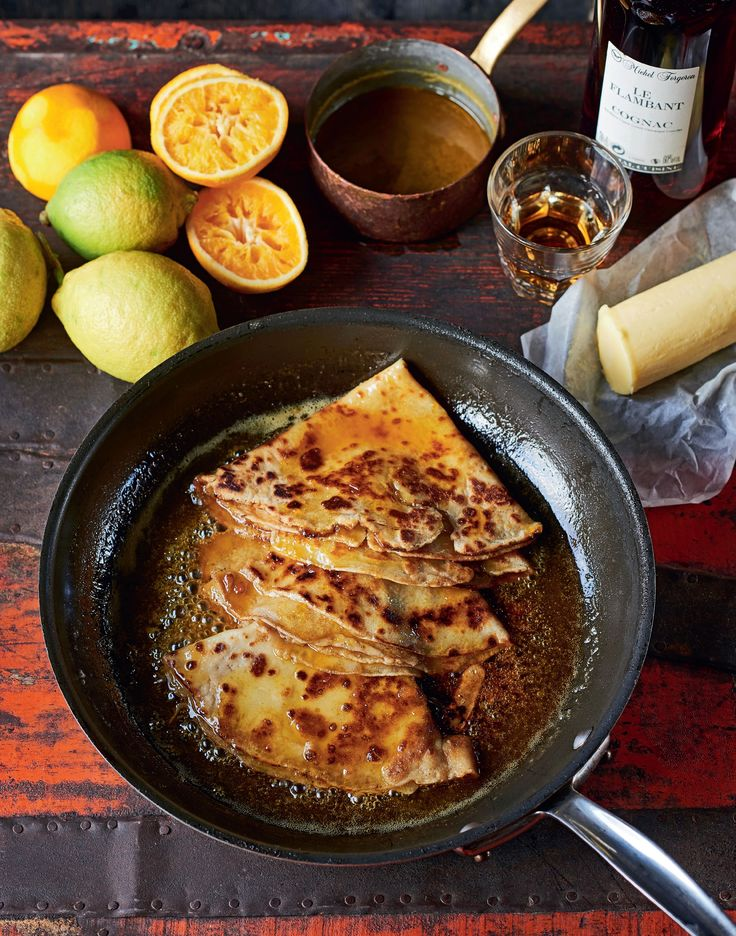 Crêpes suzette recipe from James Martin's French Adventure by James Martin | Cooked