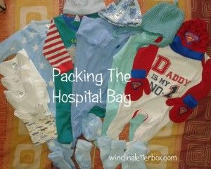 Packing The Hospital Bag #pregnancy