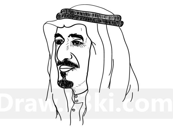 رسم الملك سلمان Diy Prints Dino Drawing Caligraphy Art
