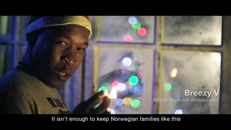 """Africa for Norway - New Video! Radi-Aid - Warmth for Xmas  """" It will take a lot of videos to get rid of decades of brainwashing """""""