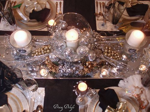 Superior New Yearu0027s Eve Table Decorations