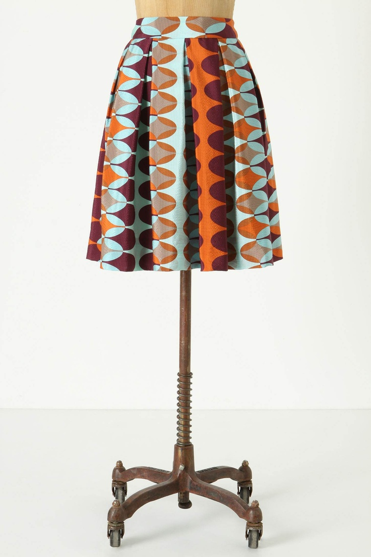 I might need this.: Geometric Prints, Paused Movement, Retro Prints, Prints Skirts, Pretty Skirts, Skirts Patterns, Anthro Skirts, Movement Skirts, Beautiful Amazing